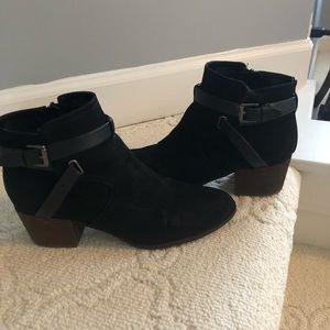 Black UNISA brand black booties